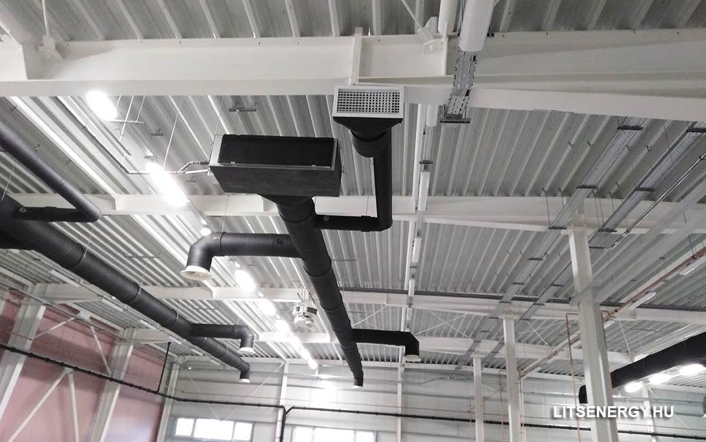 A követelményeknek megfelelő légtechnika szerelés