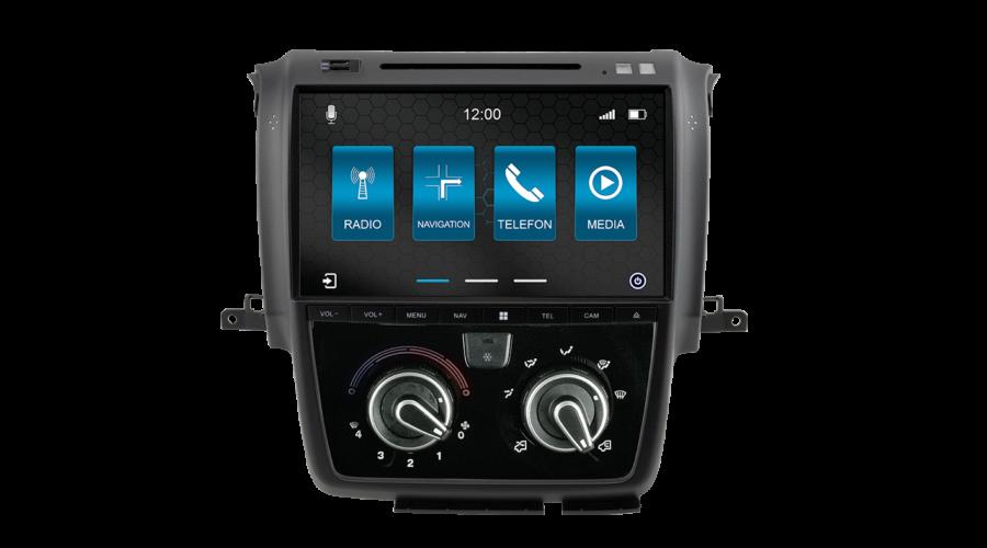 Fejegység navigációs szoftverrel – N7-DCX Pro